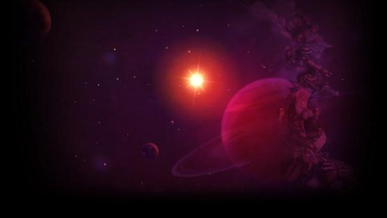 Космический фон стим 3