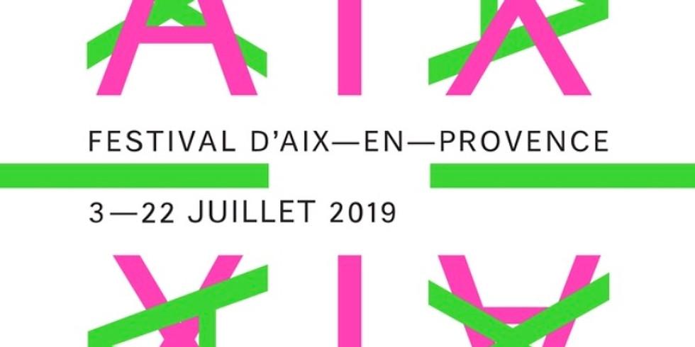 """Chamber Music Residency of """"Festival d'Aix-en-Provence"""""""