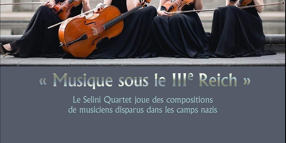 Selini Quartet in Brussels