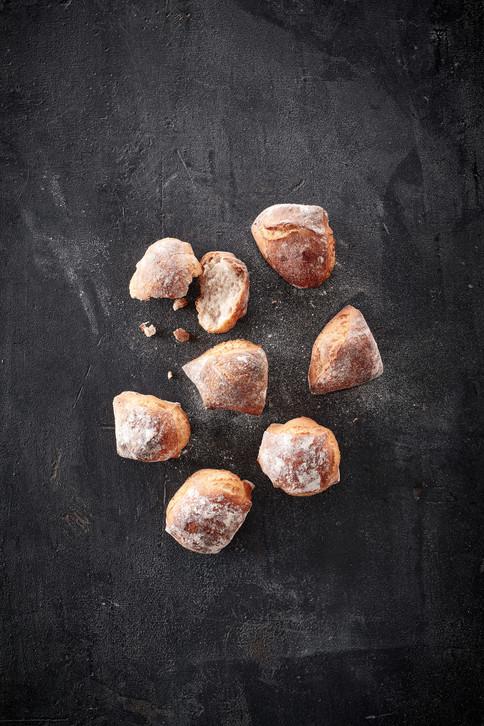 Sourdough Starter and Bread Rolls