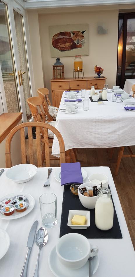 Wild Orchid Breakfast Room