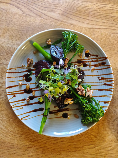 Local Tenderstem Broccoli & Beetroot Sal