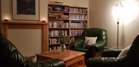Reading & Games Corner
