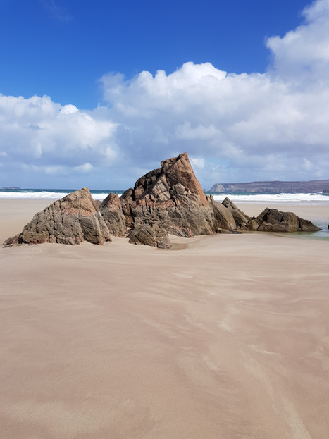 Sango Sands, in Durness