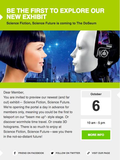 DoSeum Email Campaign