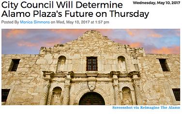 City Council Will Determine Alamo Plaza's Future on Thursday