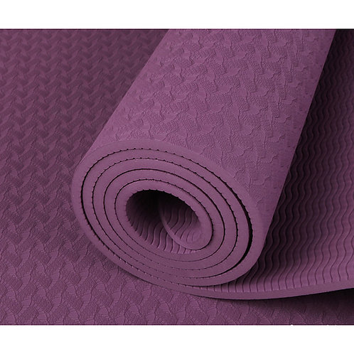 Yoga Mat 183*61*0.8 cm Odor Free Eco-friendly Non Slip High Density Non Toxic Th