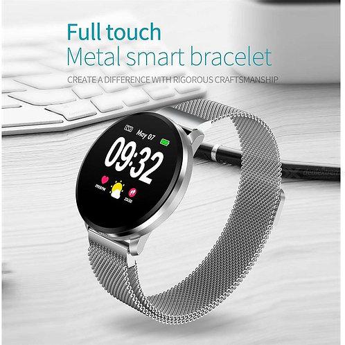 1.22 Inch IPS Display Smart Watch IP67 Waterproof Blood Pressure Heart Rate Moni