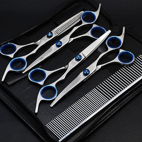Cat Dog Grooming Health Care Stainless Steel Grooming Kits Scissor Comb Waterpro