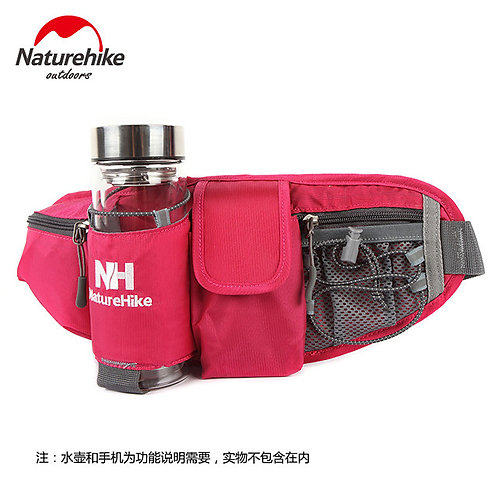 6 L Waist Bag / Waistpack Multifunctional Outdoor Green Black Red
