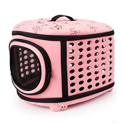 Cat Dog Carrier Bag & Travel Backpack Portable Breathable Pet Baskets Fabric Pla