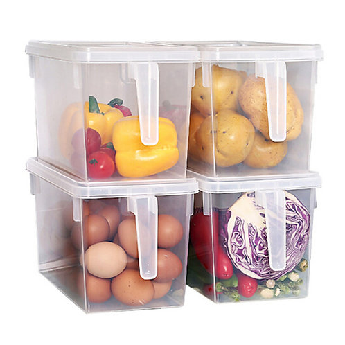 1pc Food Storage Plastic Easy to Use Kitchen Organization