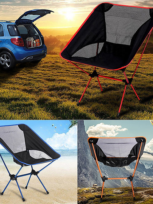Camping Chair Multifunctional Portable Breathable Ultra Light (UL) Aluminium All