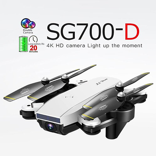 SG700D Folding Drone Long Battery Life 4K Professional HD Dual Camera Aerial Fou