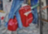 Artistic Painting won Gold Coast Watercolor Society Award