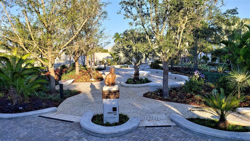 Main Garden Landscape Design Belen Jesuit Miami