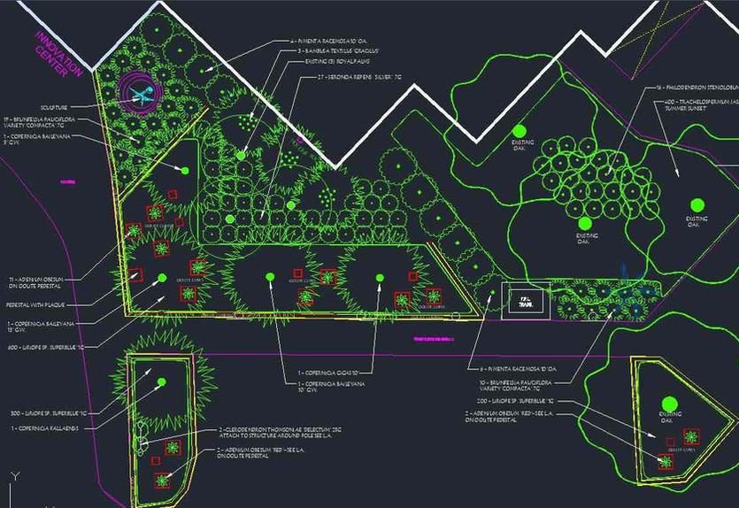 Belen Jesuit School Miami Landscape Project Rendering