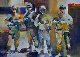 Painting won Gold Coast Watercolor Society Award