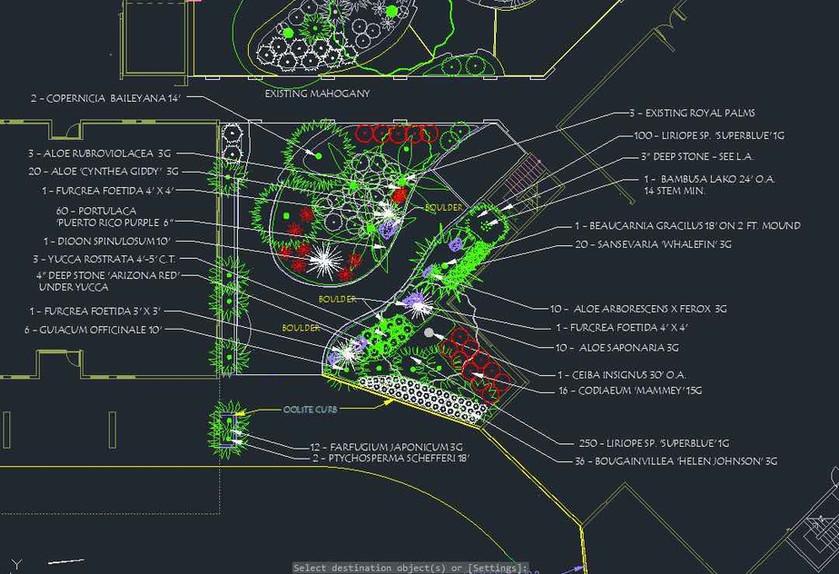 Belen Jesuit School Miami Landscape Project Rendering Technology Center