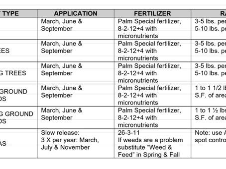 Garden Maintenance Guidelines
