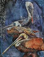Painting won Palm Beach Watercolor Society Award