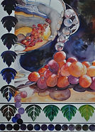 Gold Coast Watercolor Society Award by artist Marilyn