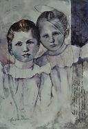 Watercolor Painting won Gold Coast Watercolor Award