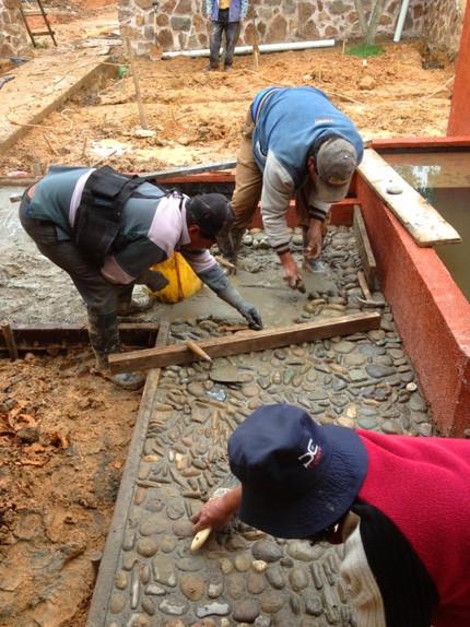 Caballo Campana hardscaping construction