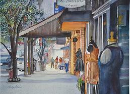 Watercolor Artist Marilyn achieved Plantation Art Guild Award