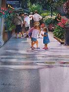 Artist Marilyn Johansen won Florida Watercolor Society Award