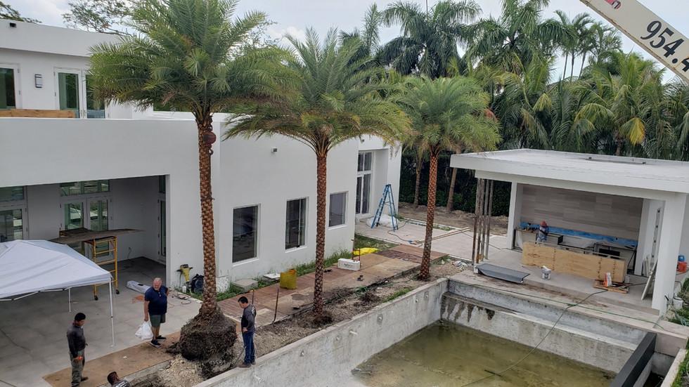 Landscape Design Project Pinecrest Miami