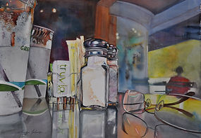 Gold Coast Watercolor Society Award by Marilyn
