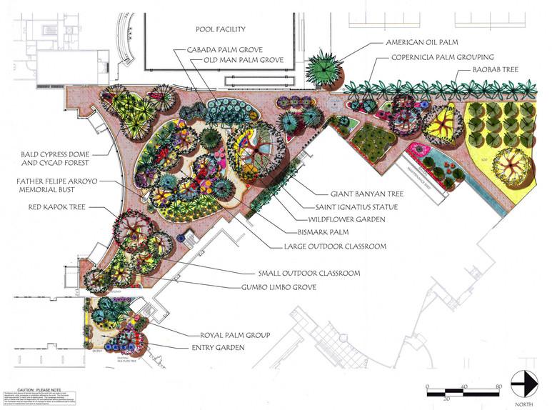Landscape Architectural Design CAD Rendering