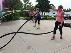 Training rope exercises