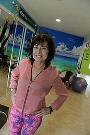 Me in my Fit 4 You Fitness Studio