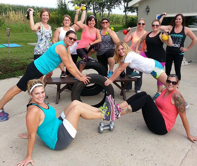 Happy BACKYARD Bootcamp fitness friends!