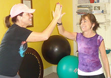 "An excellent workout deserves a ""high five""!"