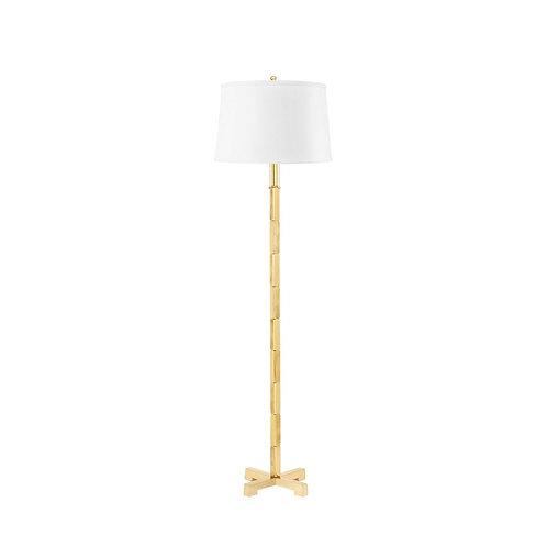 ALBITE FLOOR LAMP (LAMP ONLY), BRASS
