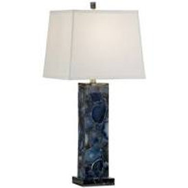 Agate Lamp - Blue