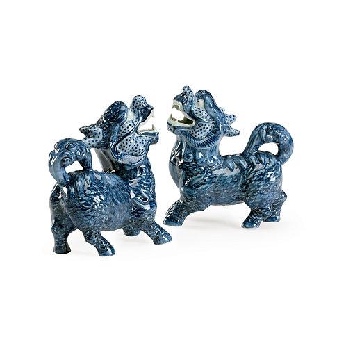 Blue Foo Dogs (Pr)