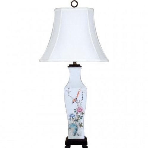 BIRD SCENE RECTANGLE LAMP