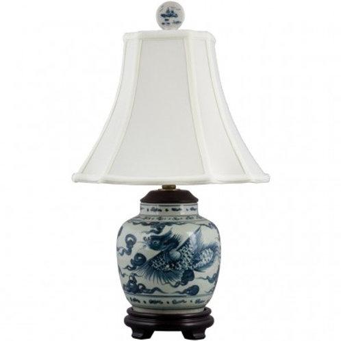 BLUE AND WHITE LAMP-PHOENIX