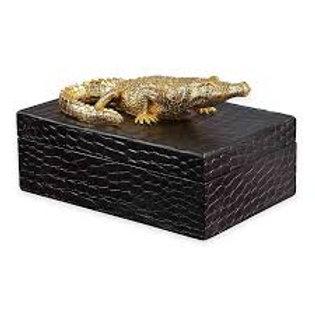 Alligator Box - Black