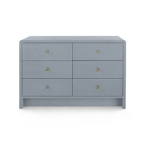 BRYANT EXTRA LARGE 6-DRAWER, GRAY
