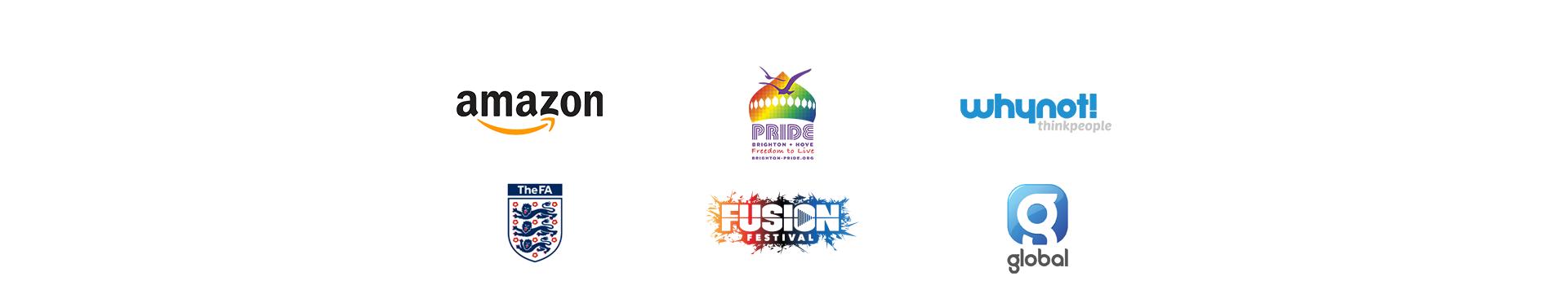 Amazon, Brighton Pride, WhyNot