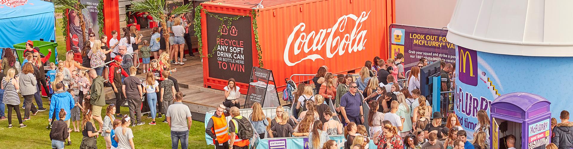 Coca Cola activation
