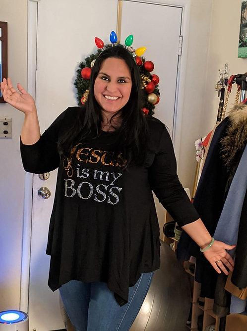 Jesus is My Boss Shirt