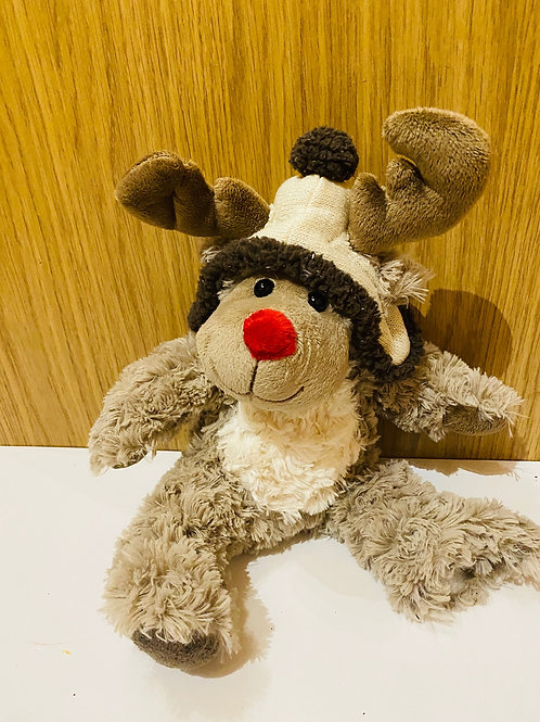Cuddly Plush Reindeer
