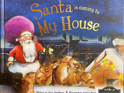 Santa is coming to  My House Christmas Book