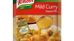 KNORR SAUCE MILD CURRY